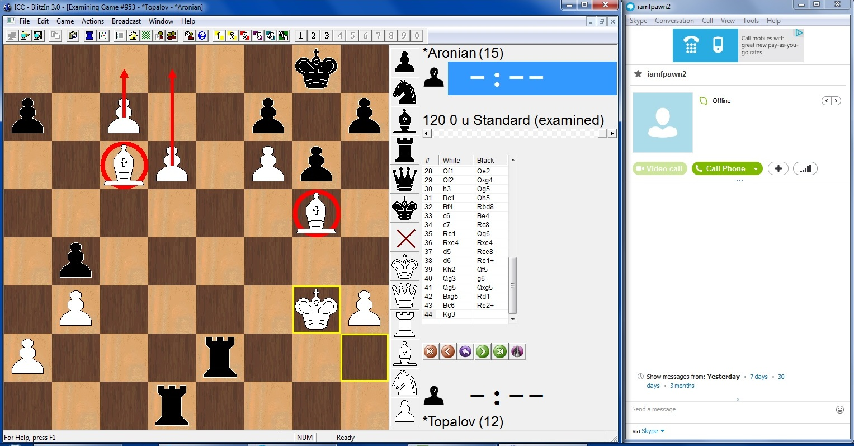 نتیجه تصویری برای chess skype